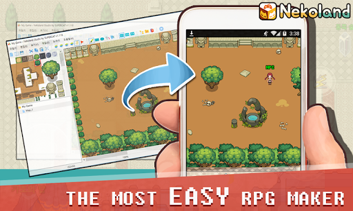 Nekoland Player-RPG maker,game maker app,studio 1.643 screenshots 2