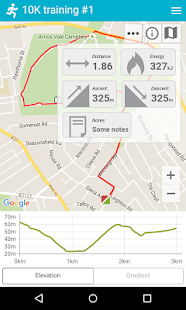 Mapometer - GPS sport mapping screenshot