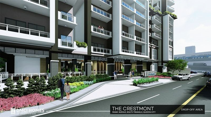 The Cresmont, Panay Avenue, Quezon City drop-off area