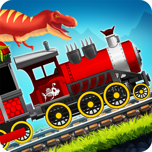Dinosaur Park Train Race (game)
