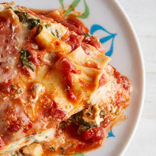 Spinach and Herb Lasagna.