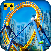 Roller Coaster VR Simulator Android APK Download Free By AbsoLogix - 3D Games Studio