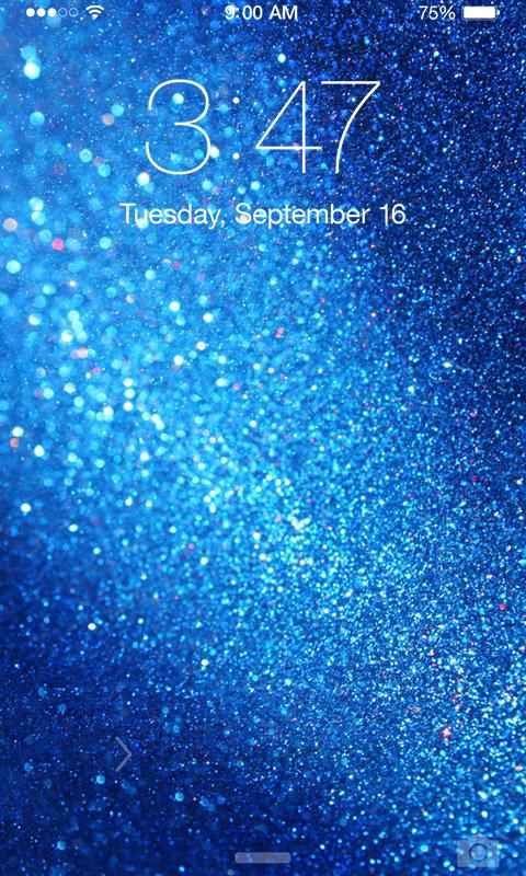 blue glitter wallpaper android apps on google play