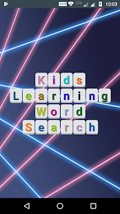 Kids Learnign Word Search - náhled