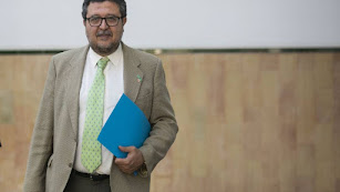 Francisco Serrano, presidente del grupo de Vox en el Parlamento andaluz.