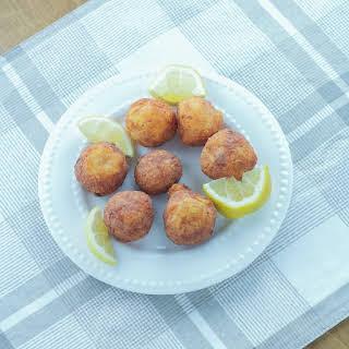 Tirokroketes   Fried Cheese Balls.