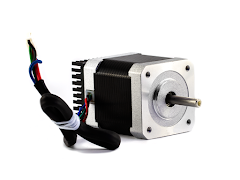 BCN3D R Series Y Axis Motor and Heatsink - Nema 17 47mm