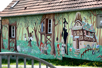 Photo: Day 27 - Restaurant Wall (Just Outside Mommenheim)
