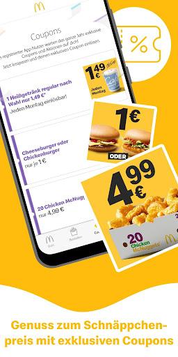 McDonald's Deutschland - Coupons & Aktionen 6.2.4.47126 screenshots 2