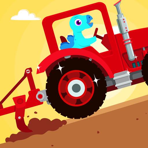 Dinosaur Farm - Tractor simulator games for kids Icon