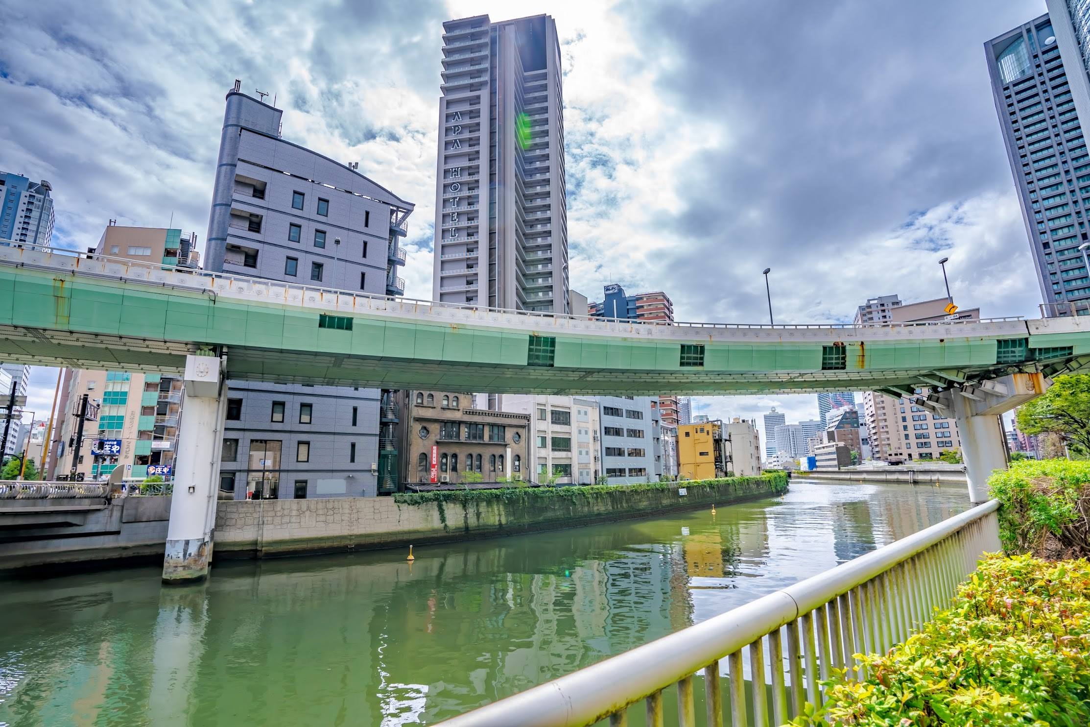 Osaka Higobashi bridge2