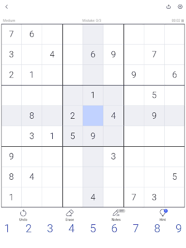Sudoku - Sudoku puzzle, Brain game, Number game screenshots 12