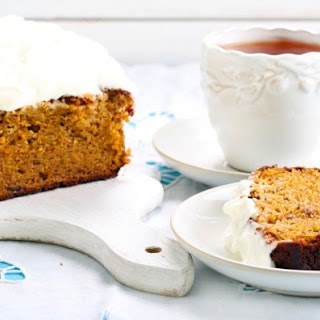 10. Pumpkin Bread with Cream Cheese Frosting