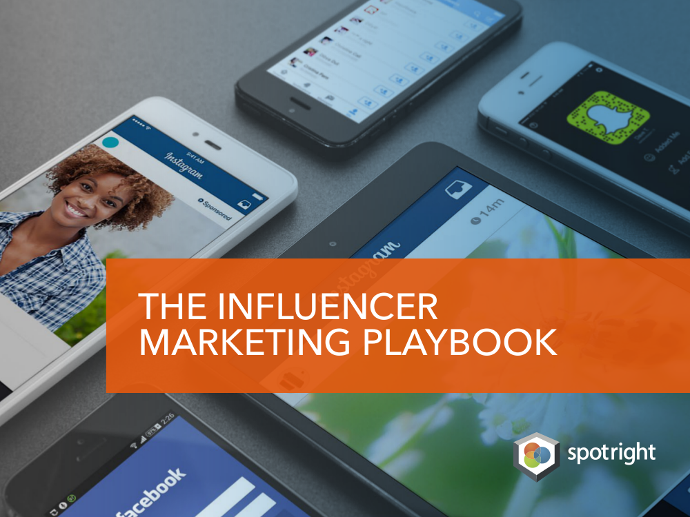 Influencer Marketing Playbook Cover