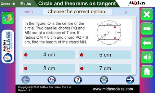 MiDas eCLASS Maths 10  Demo screenshot 13