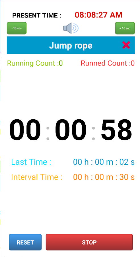 Everybody Timer- screenshot