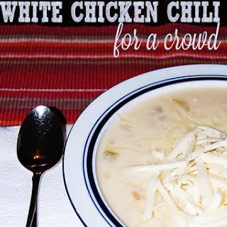 White Chicken Chili.