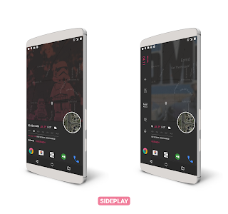 SidePlay for KLWP v1.1