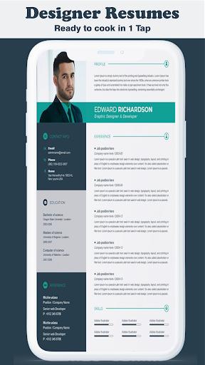 New Cv Maker App Cv Builder New Resume Format Download Apk Free For Android Apktume Com