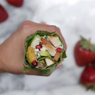 Chicken Cobb Salad Sushi Burrito