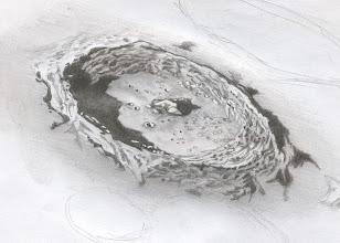 Photo: Cratère Moretus, le 26 décembre 2009 entre 20H et 22H TU.Au T406 à 350X en bino. Images stables.