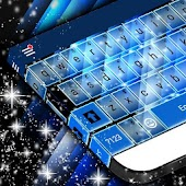 Blue Blades Keyboard Theme