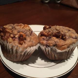 Blackberry, quinao, oatmeal, Greek Yogurt Muffins