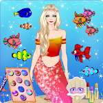 Princess Mermaid - Underwater Dress up