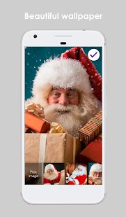 Personalized Santa Claus For Kids PIN Lock Screen - náhled
