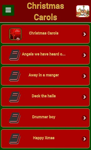 android Chants de Noël Screenshot 5