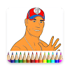 Coloring Book For WWE Champions 2K