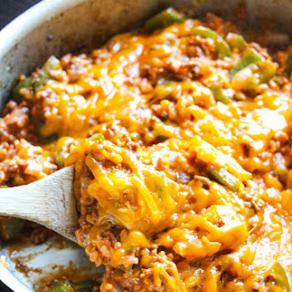8-Ingredient Stuffed Pepper Skillet.