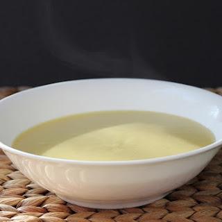 Cheddar Potato Leek Soup