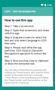 Copy Text On Screen pro v2.1.5 Build 39