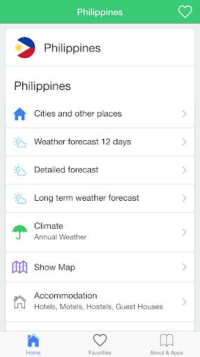 菲律賓天氣,預報
