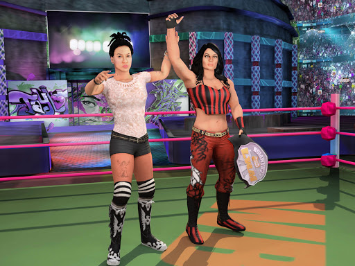 Bad Girls Wrestling Rumble: Women Fighting Games apktram screenshots 9