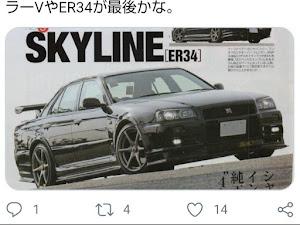 スカイライン ENR34 25GT-X  FOURのカスタム事例画像 ENR34改さんの2020年07月04日14:44の投稿