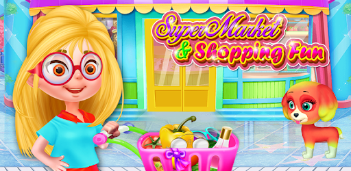 Have a great fun with supermarket shopping fun game & cashier for the family
