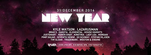 New Years Eve 2017 at Truth : Truth