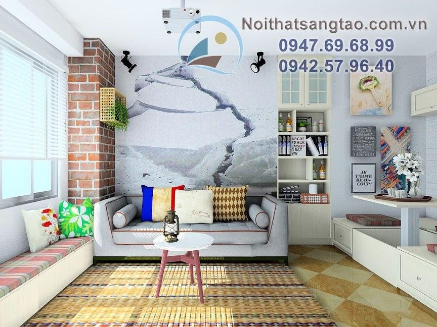 mẫu căn hộ cho người độc thân