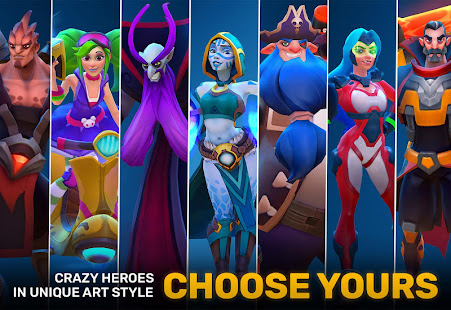 Planet of Heroes – MOBA PVP meets Brawler Action 9
