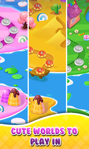 Booster Candy Magic - Candy Jelly Crush Soda Mania  captures d'écran 2