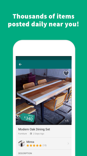 Screenshot 4 for OfferUp's Android app'