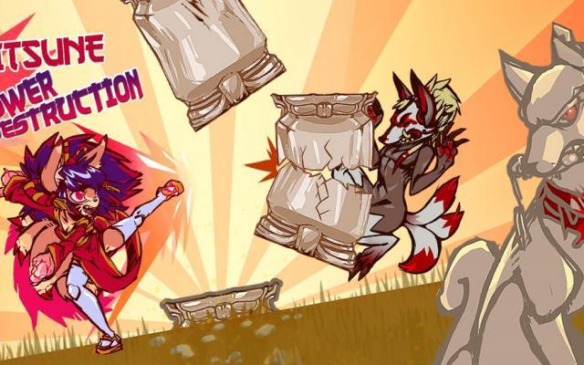 Kitsune Power Destruction