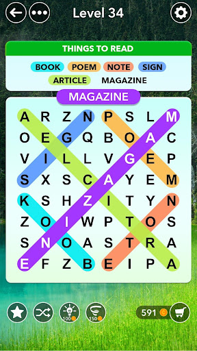 Word Search - Classic Find Word Search Puzzle Game modavailable screenshots 1