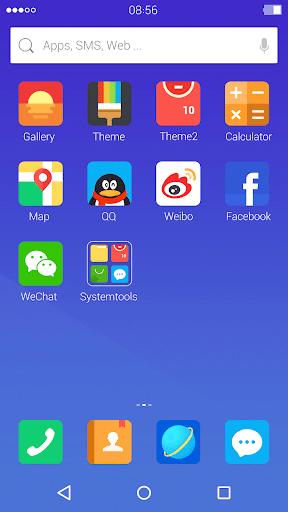 Modern: DU Launcher Theme screenshot 1