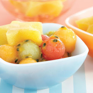 Fruit Salad with Jello Stars.