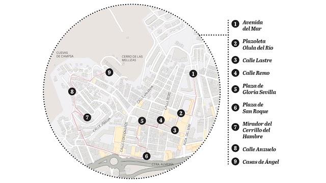 Mapa del recorrido realizado