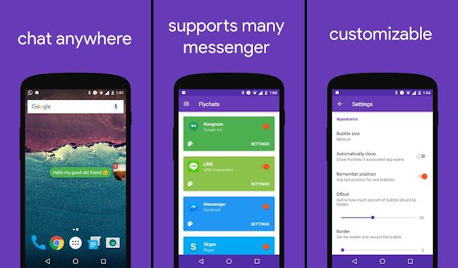 Flychat: per chattare da qualsiasi app senza chiuderla