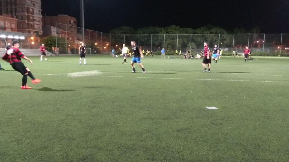 Llega la primera victoria en fútbol 7.